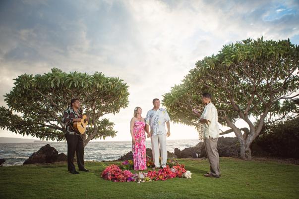 intimate island wedding