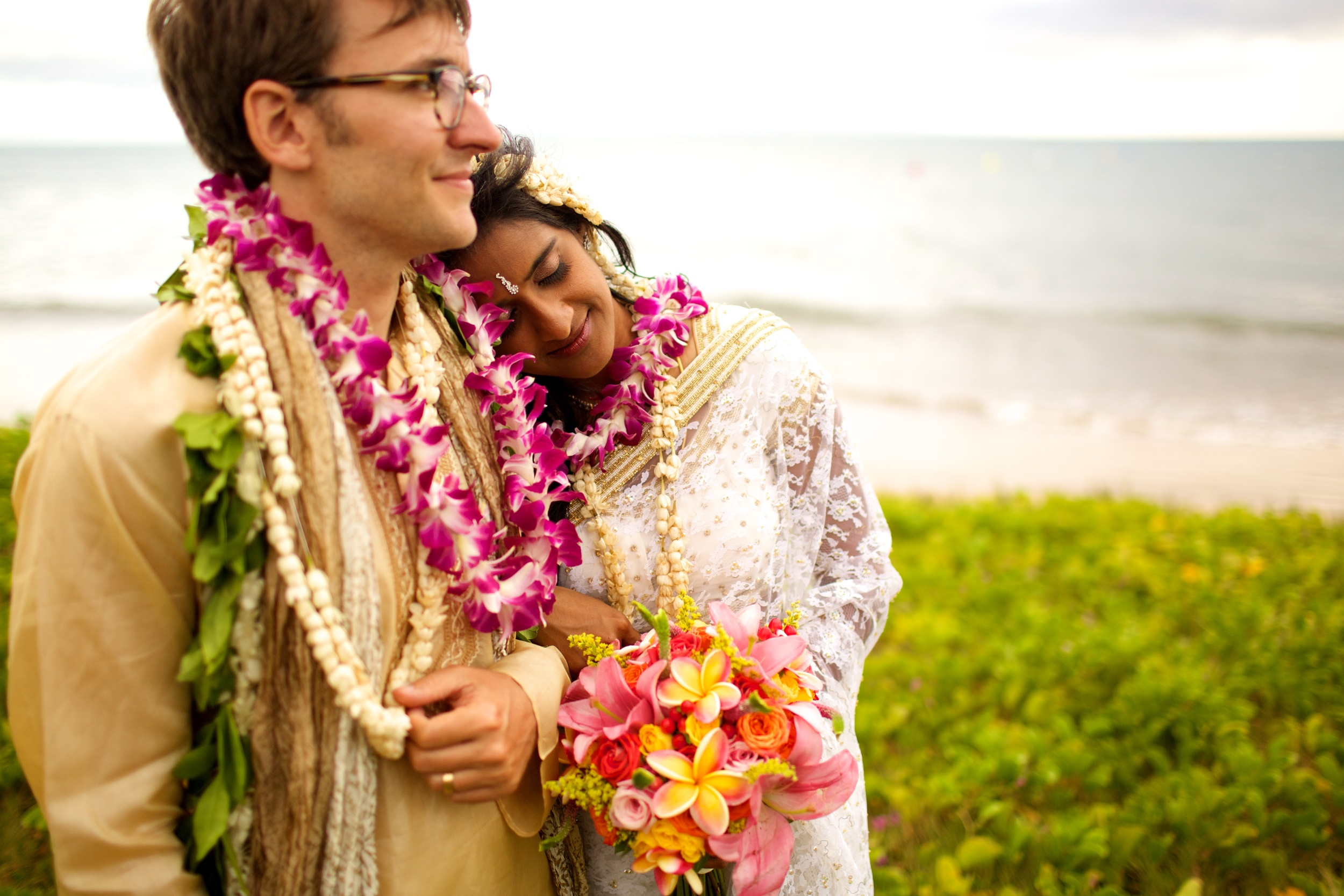 Colorful Island Wedding