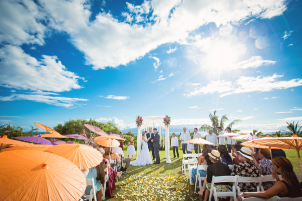 Colorful island wedding by Bliss