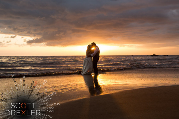 Sunset Maui Wedding by Bliss