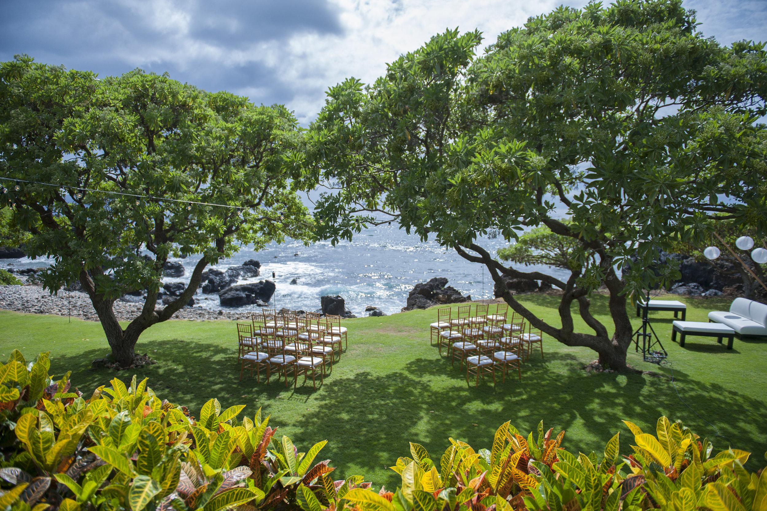 Oceanfront Maui Wedding Venue - Kukahiko Estate