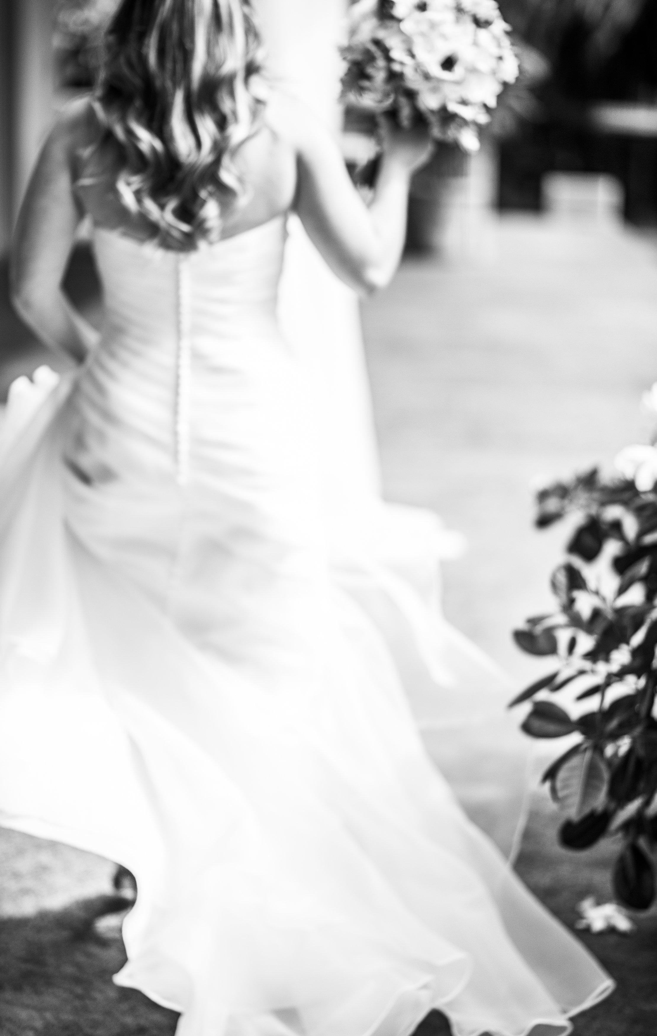 Bridal in Black and White