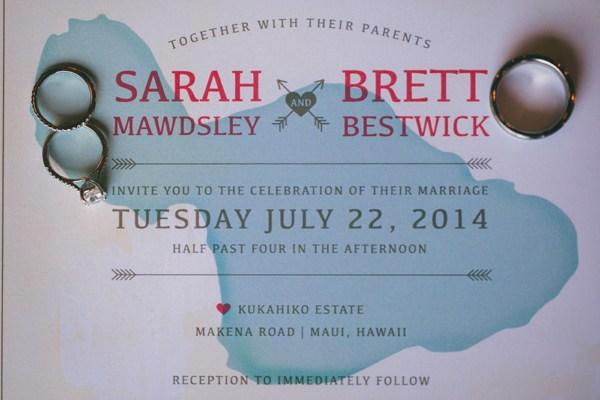 Island Wedding Invitation