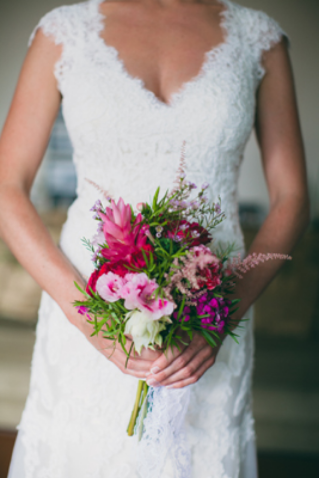 Rustic Chic Bridal Bouquet