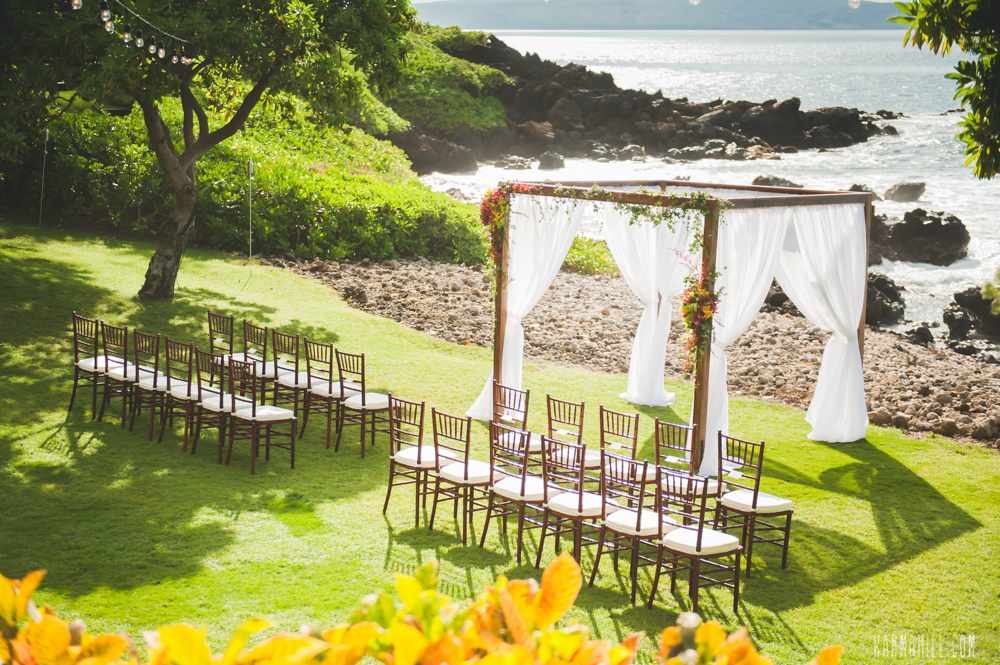 Outdoor Island Wedding by Bliss