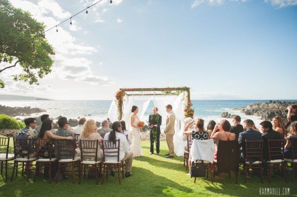 Oceanfront Maui Wedding by Bliss