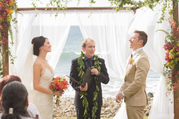 Tropical Floral Wedding Arch by Bliss