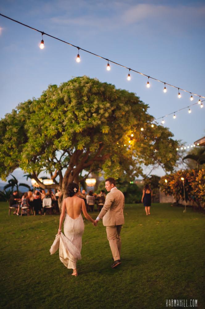 Outdoor Maui Wedding
