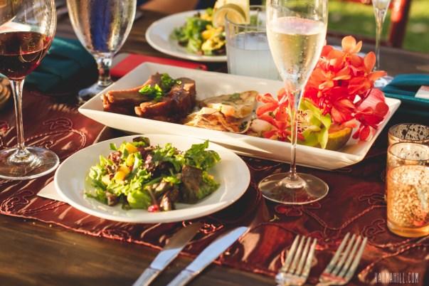 Gourmet Dinner on Maui