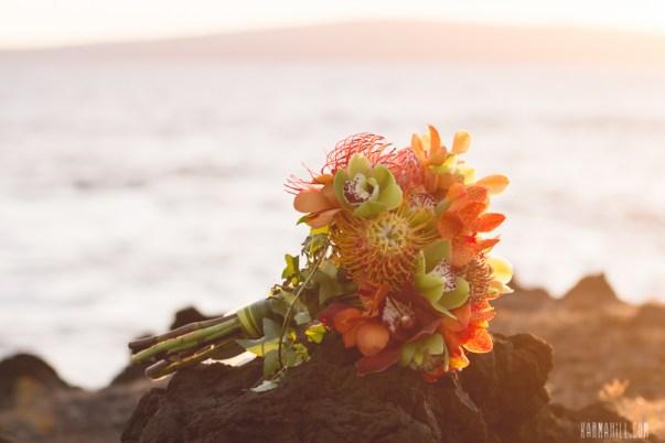 Tropical Bridal Bouquet by Petals