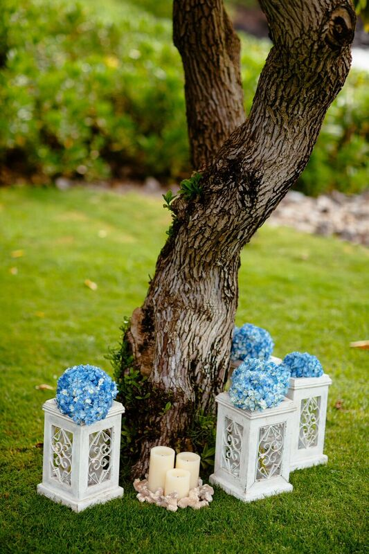 outdoor wedding decor by Bliss