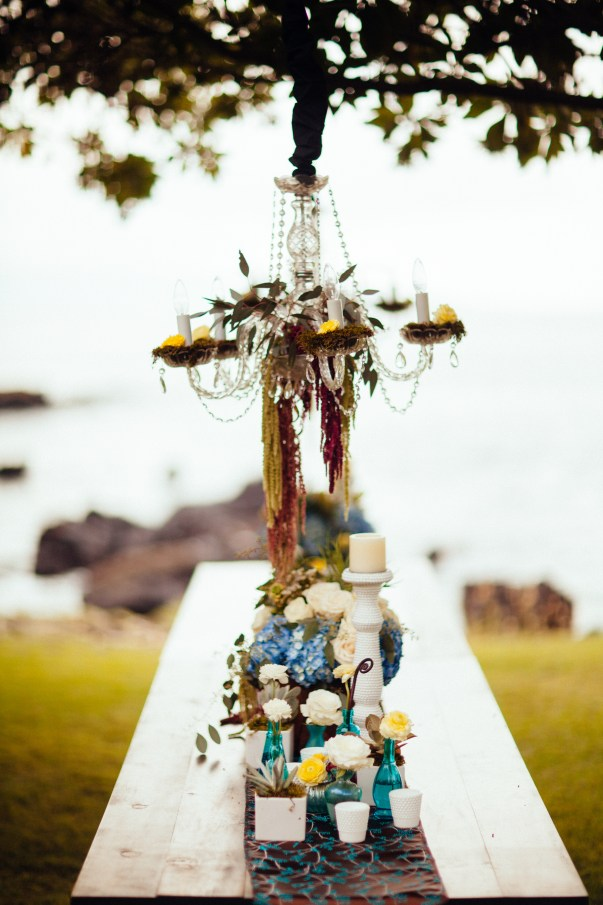 Rustic Chic Wedding Table by Bliss