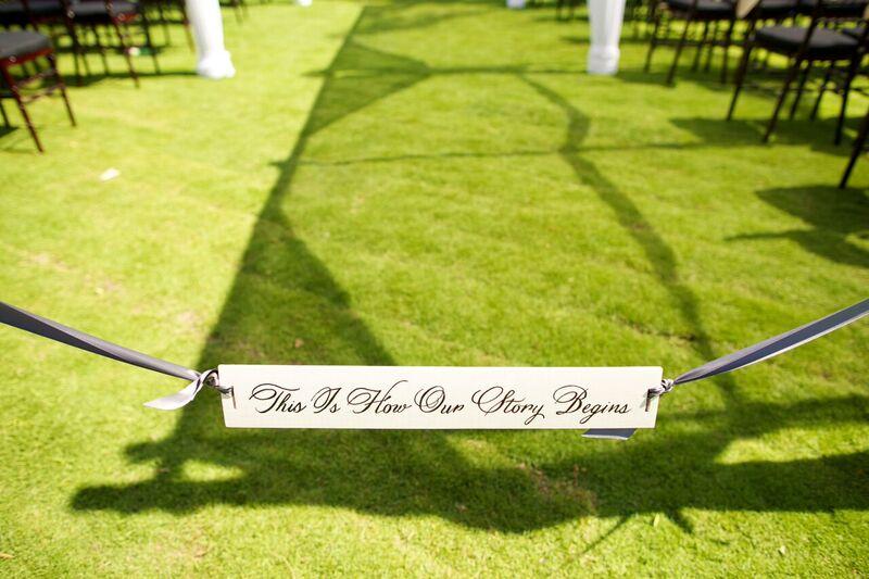 wedding details - bliss
