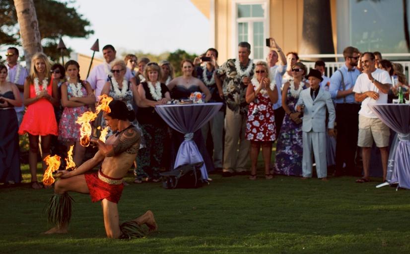 Hawaii Wedding Performance