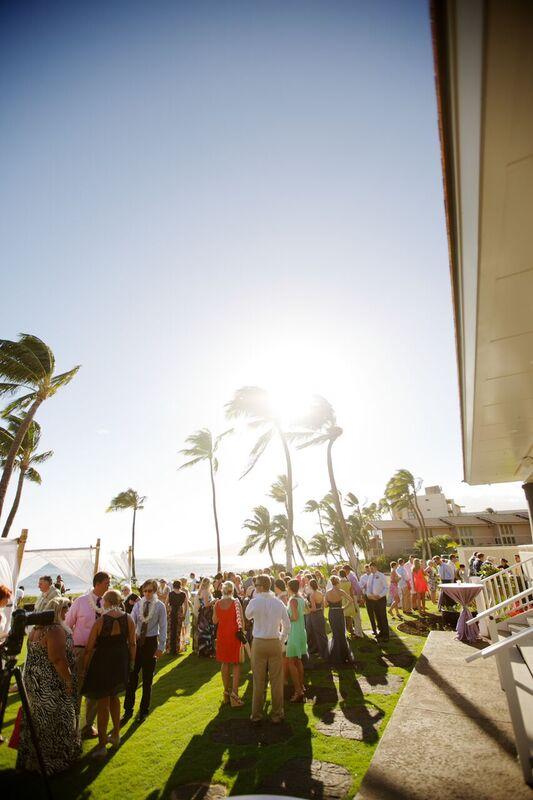 Island Outdoor Wedding