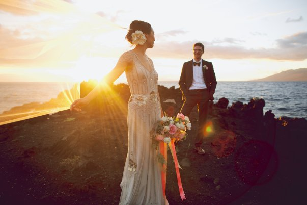 Maui Sunset Wedding by Bliss