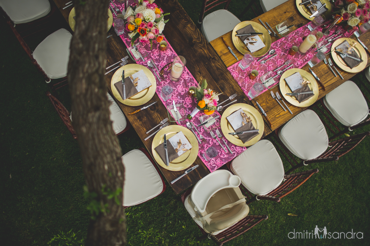 Bliss Wedding Design & Spectacular Events - wedding table
