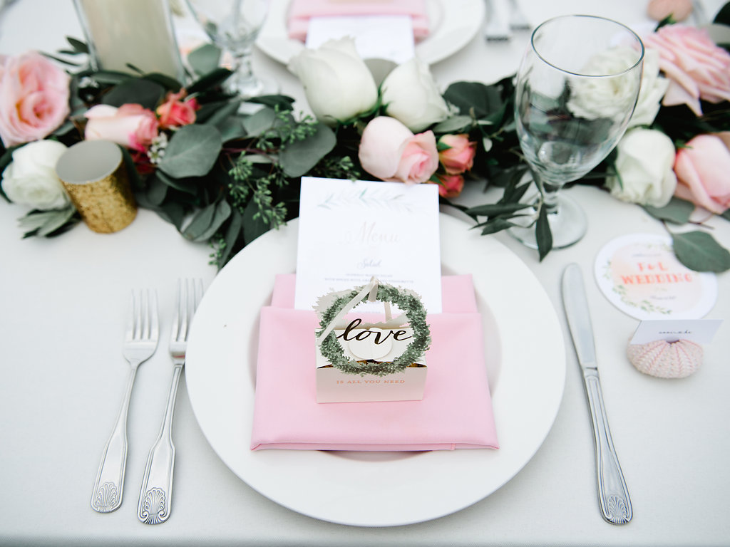 Bliss Wedding Design & Spectacular Events - wedding table and garland