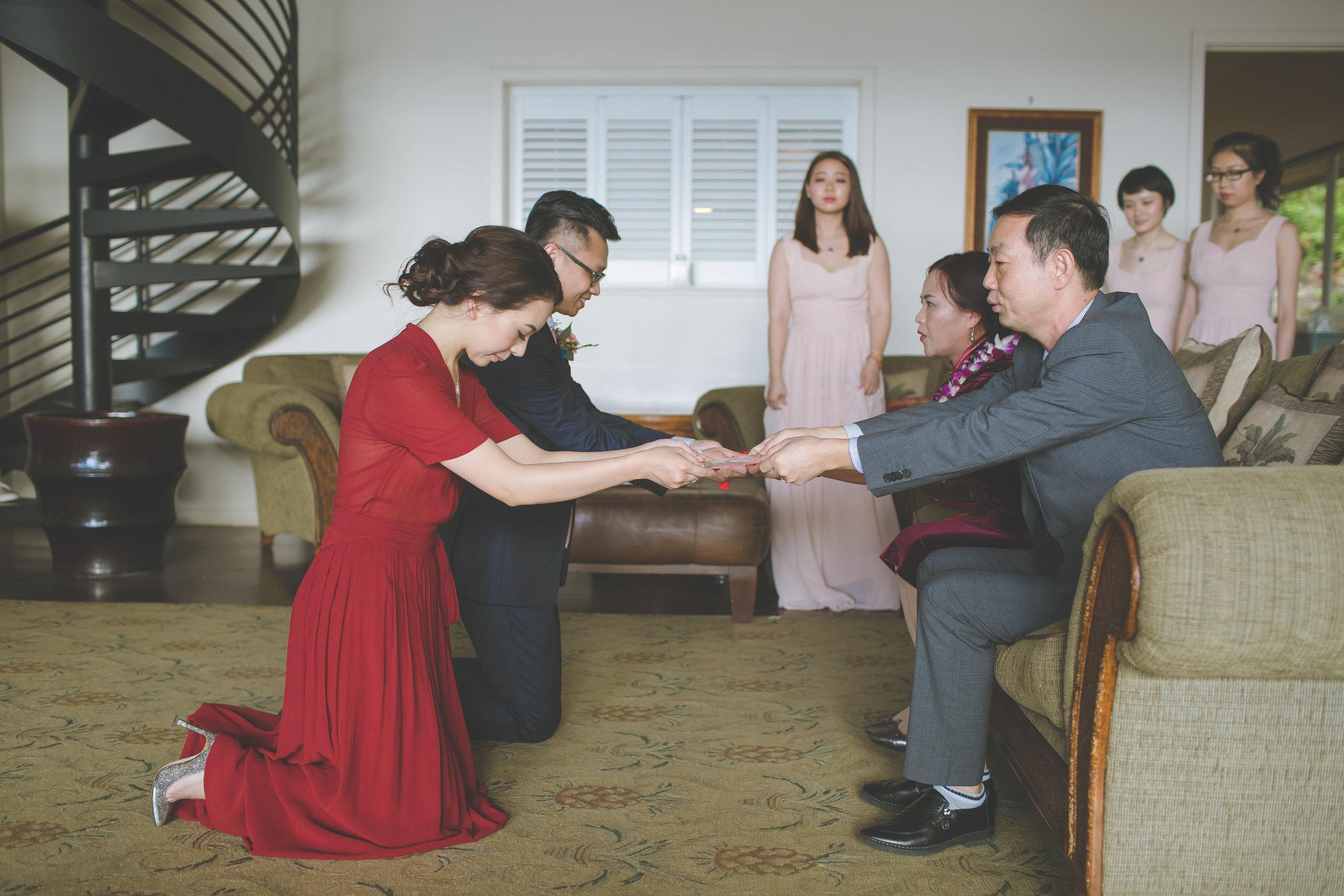 Tea Ceremony- Bliss Maui Wedding - Dmitri and Sandra Photography