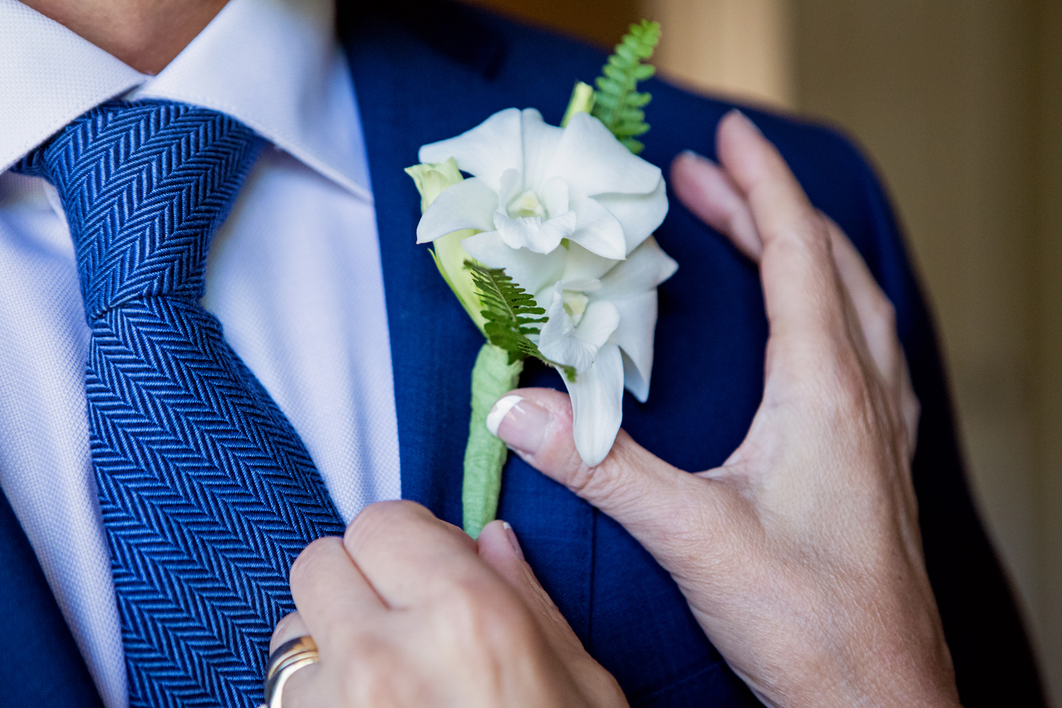 boutonniere by Petals