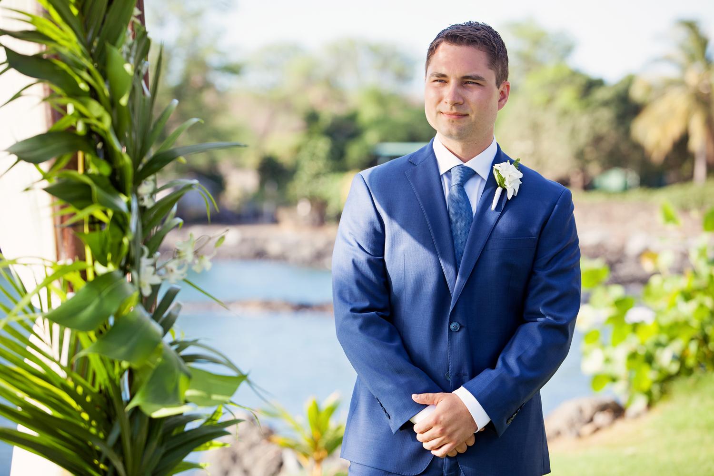 groom in blue