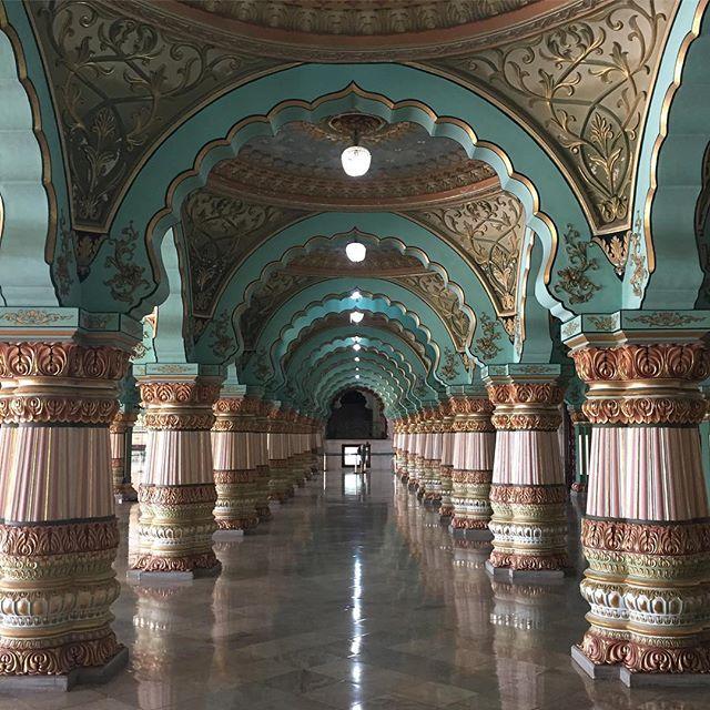 See you tomorrow morning at 6am on the mat @thehollow_store for a gentle ashtanga yoga led class with Alessandra 🙏🏼 #theashtangaroom #yogaclasses #portmacquarie photo Mysore palace India ❤️