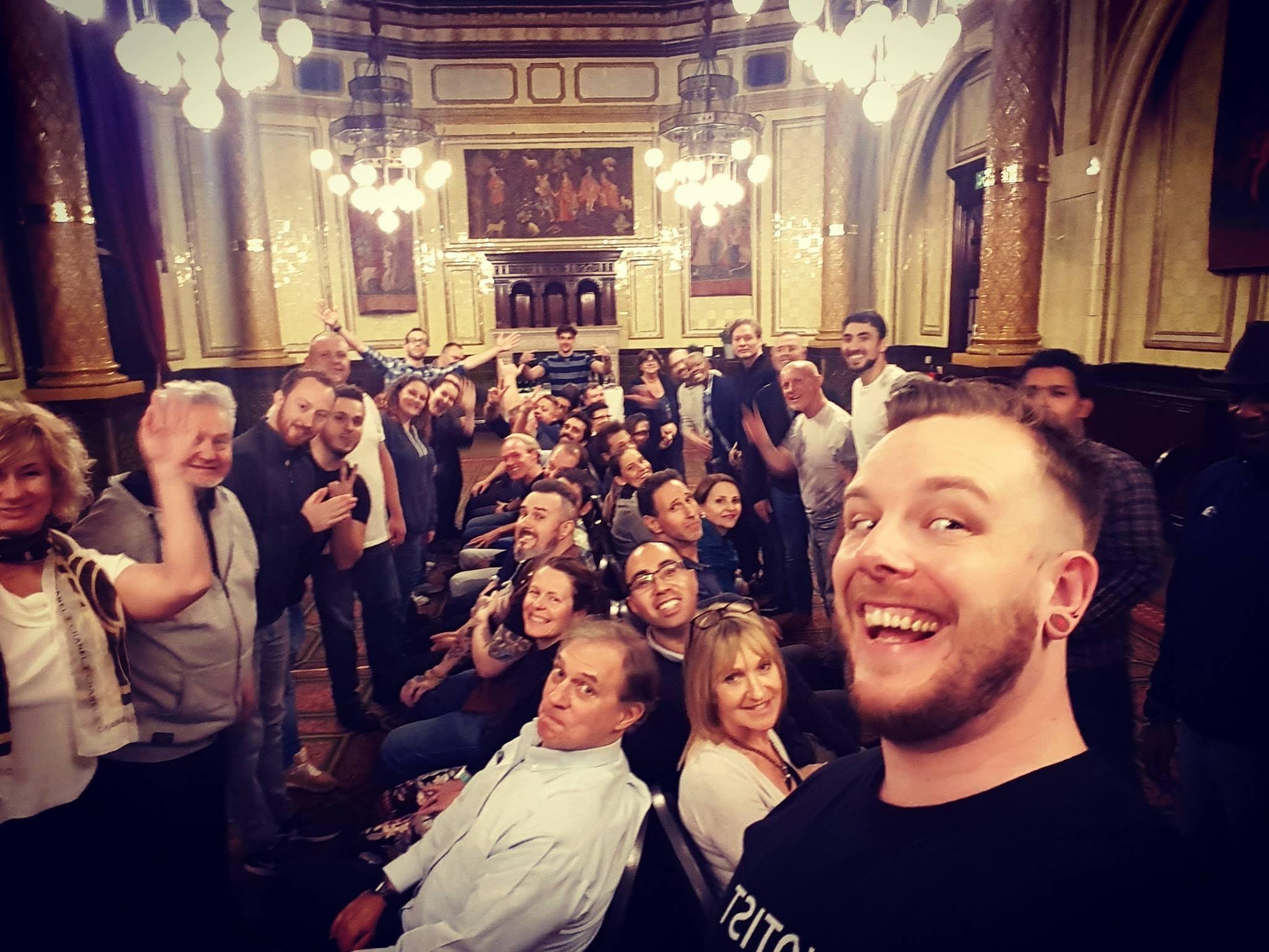 stage and street students nov 2018 selfie.jpg
