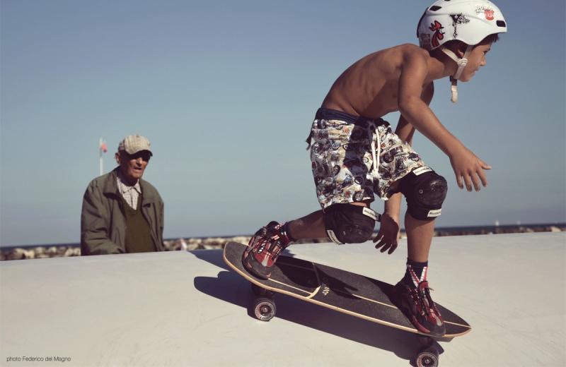 Teach your grommet how to surf
