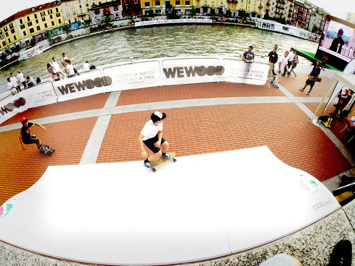 Whitezu Surfskate Wave Backyard - Stranavigli Milano