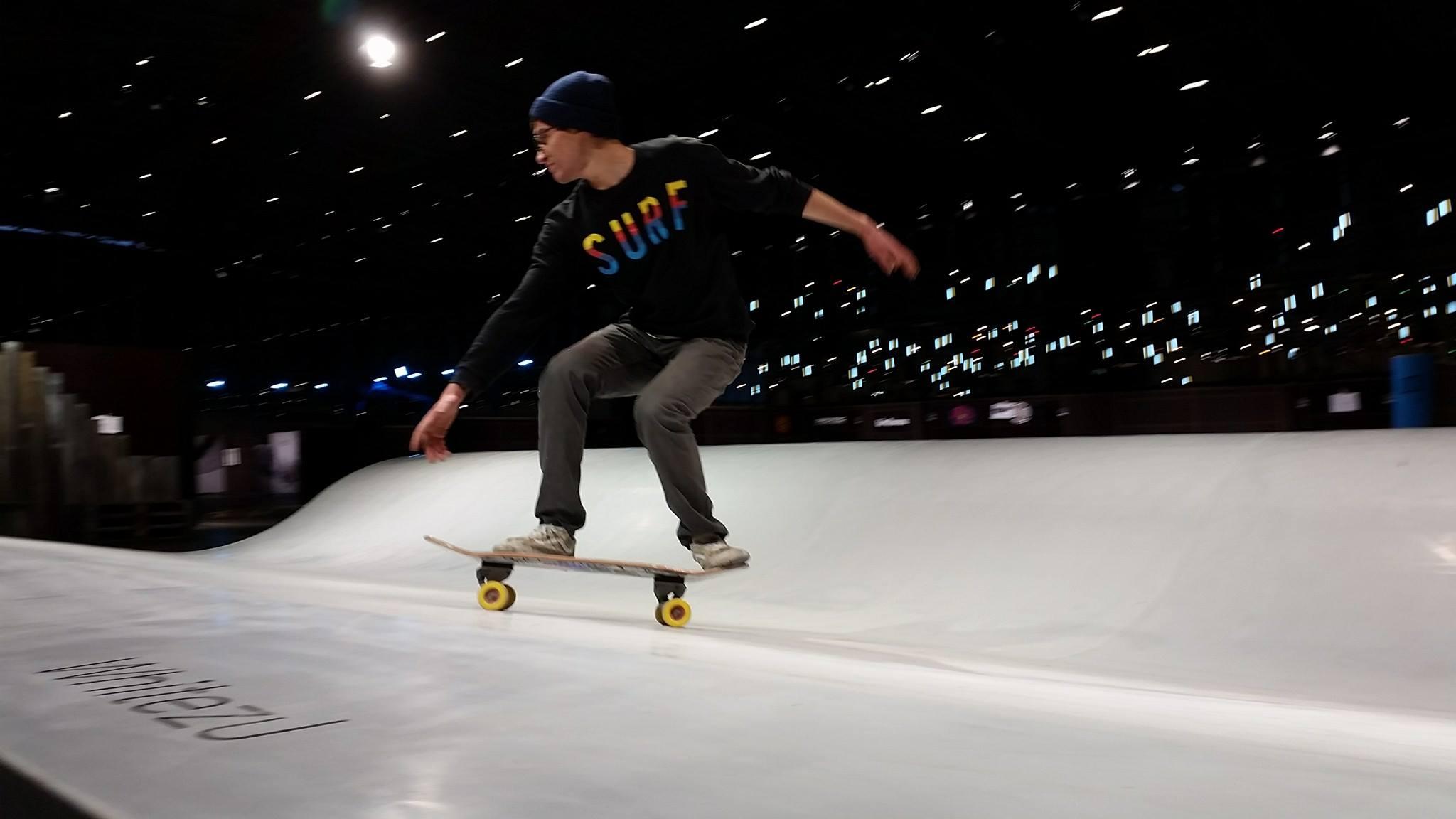 Whitezu Surfskate Urban Wave at ISPO Munich