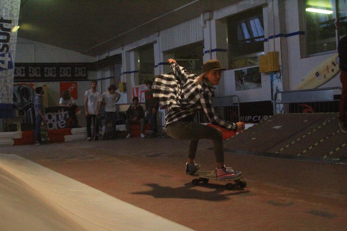 K&K Garage Surf Hut - Surfskate contest