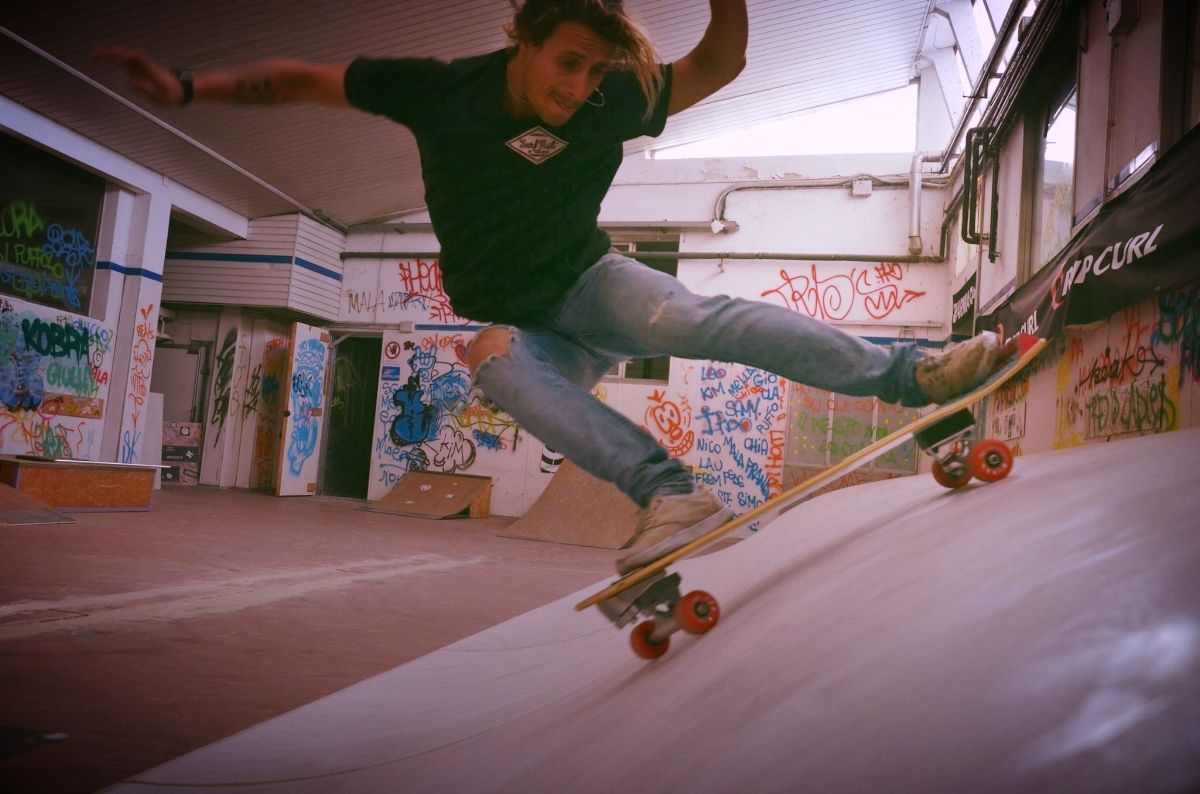 K&K Garage Surf Hut Milano - Surfskate Training