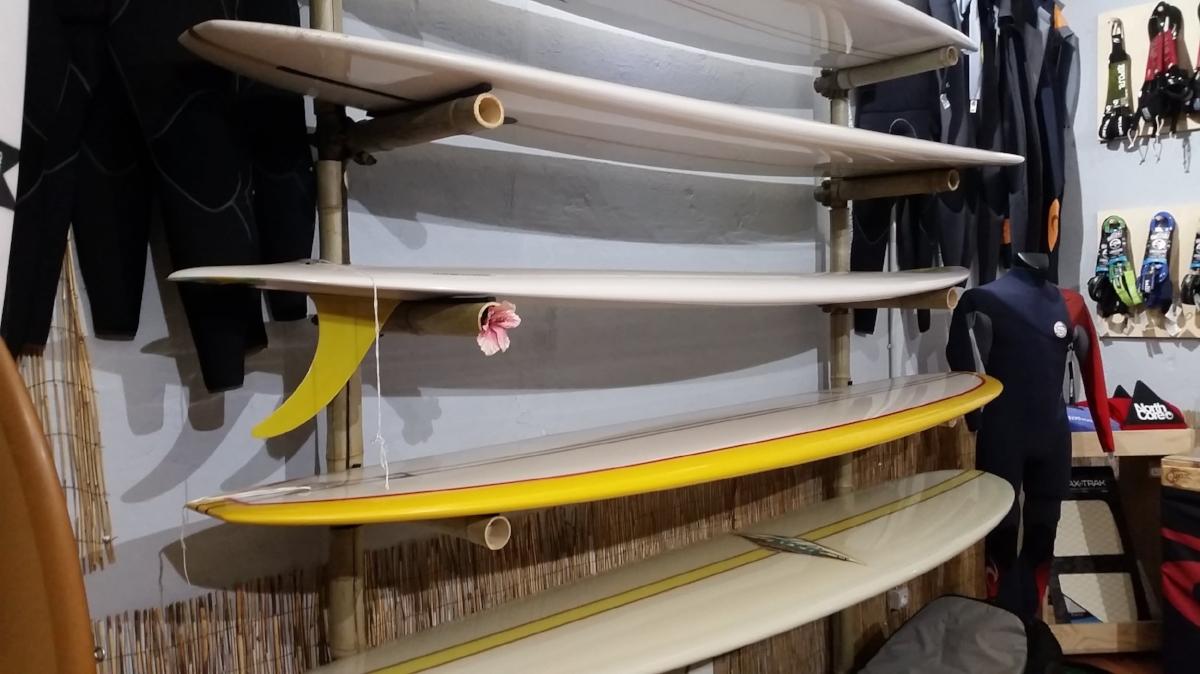 K&K Garage Surf Hut - Surf board collection