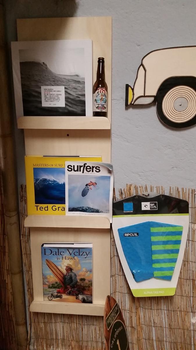 K&K Garage Surf Hut - Surf books and magazines
