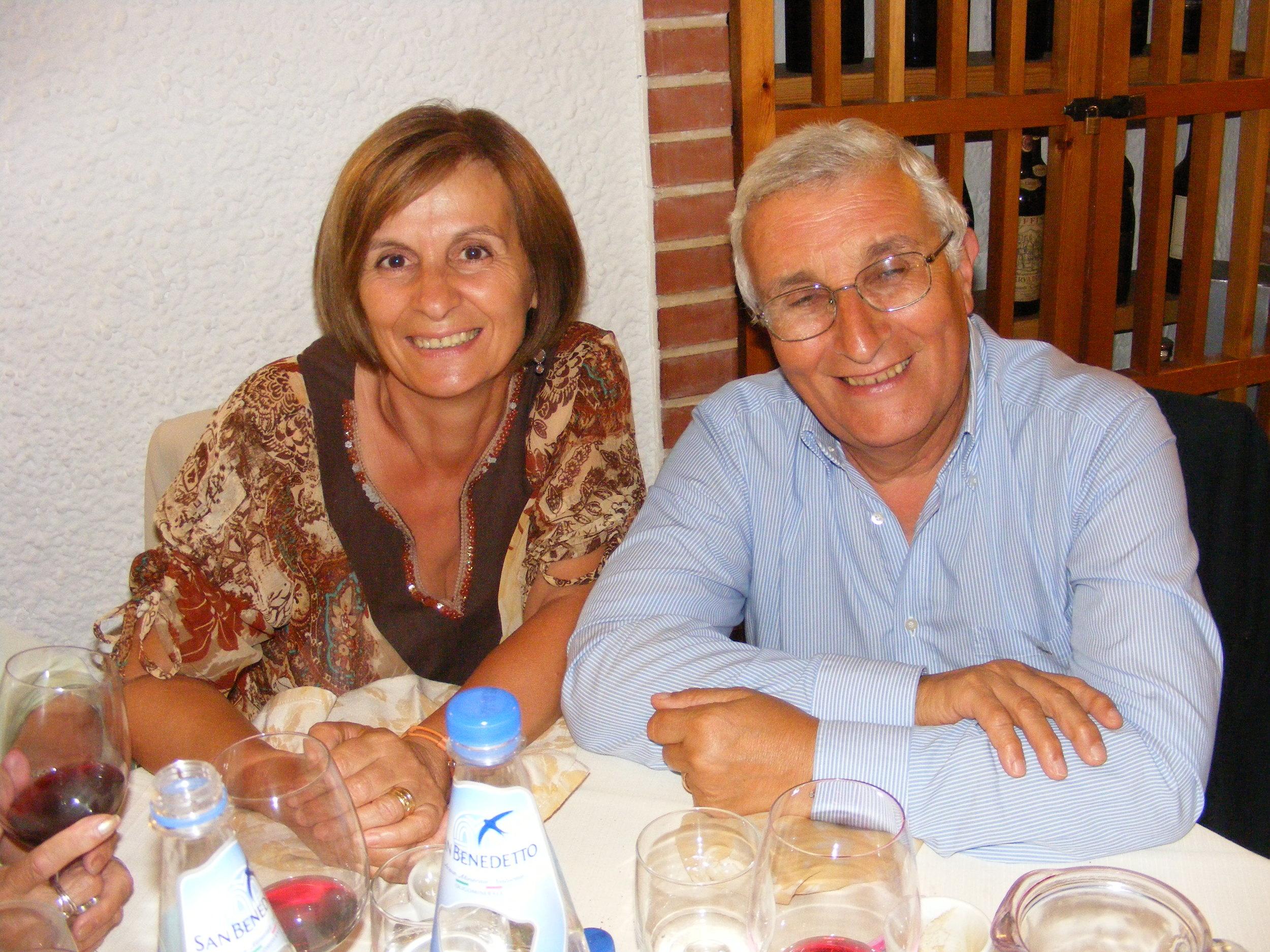 Lidia and Aldo