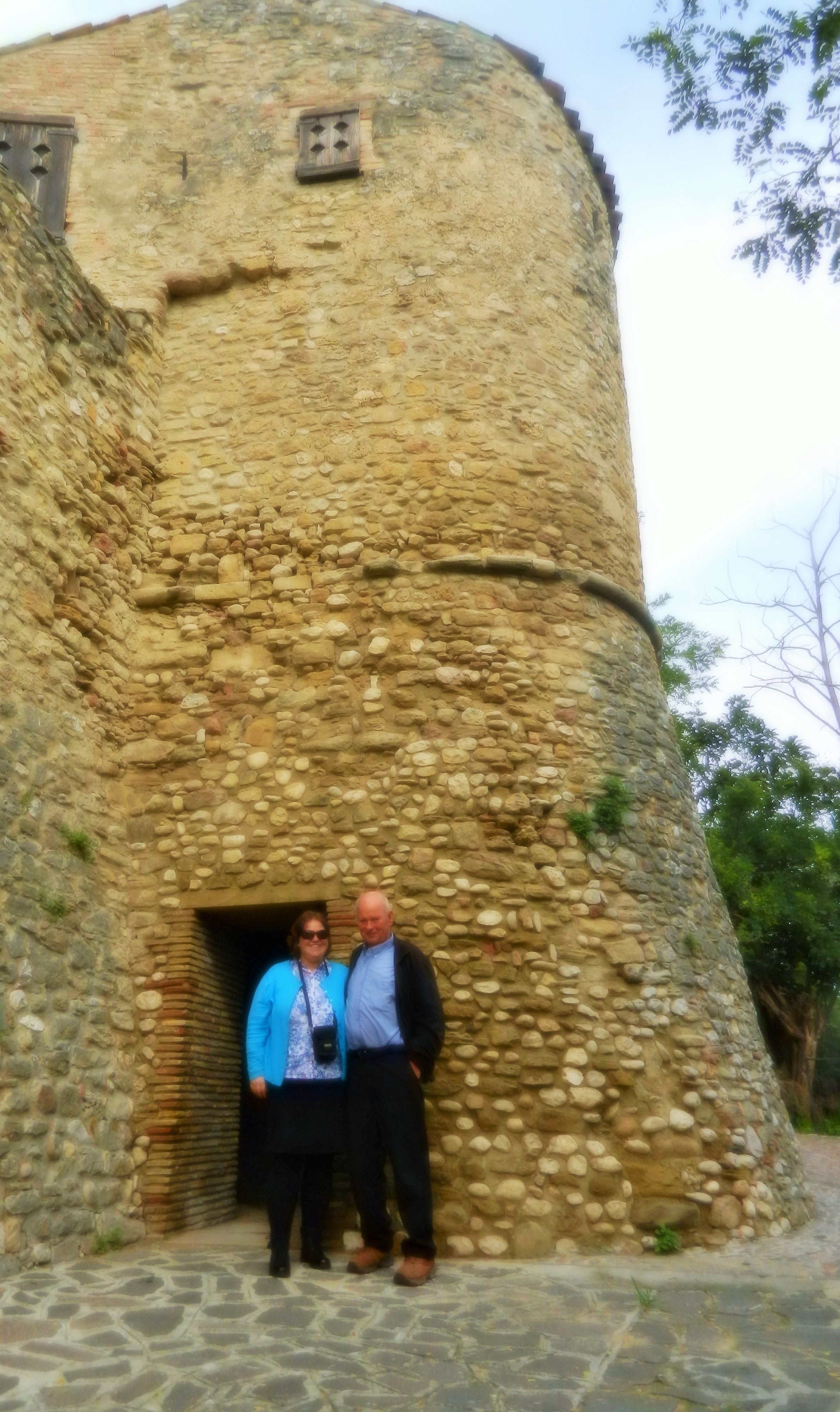 Helen and Ed enjoying their time in Abruzzo.