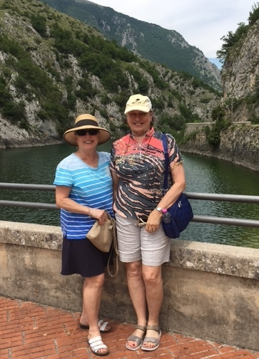 """Our 8 days in beautiful Abruzzo were unbelievable..we had beautiful Italian weather and our hosts were so gracious. The staff, the excursions, our accommodations, the meals, of course the """"vino"""" were all outstanding. Many thanks for such beautiful memories. Sincerely, Heather Wilson (Ottawa) and Sharon LLoyd ( Moncton) May-June 2017"""
