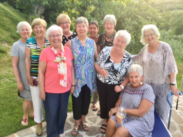 """We loved our daily """"very happy hours"""" by the pool with scenic views! Jan Sterling and 9 pals"""