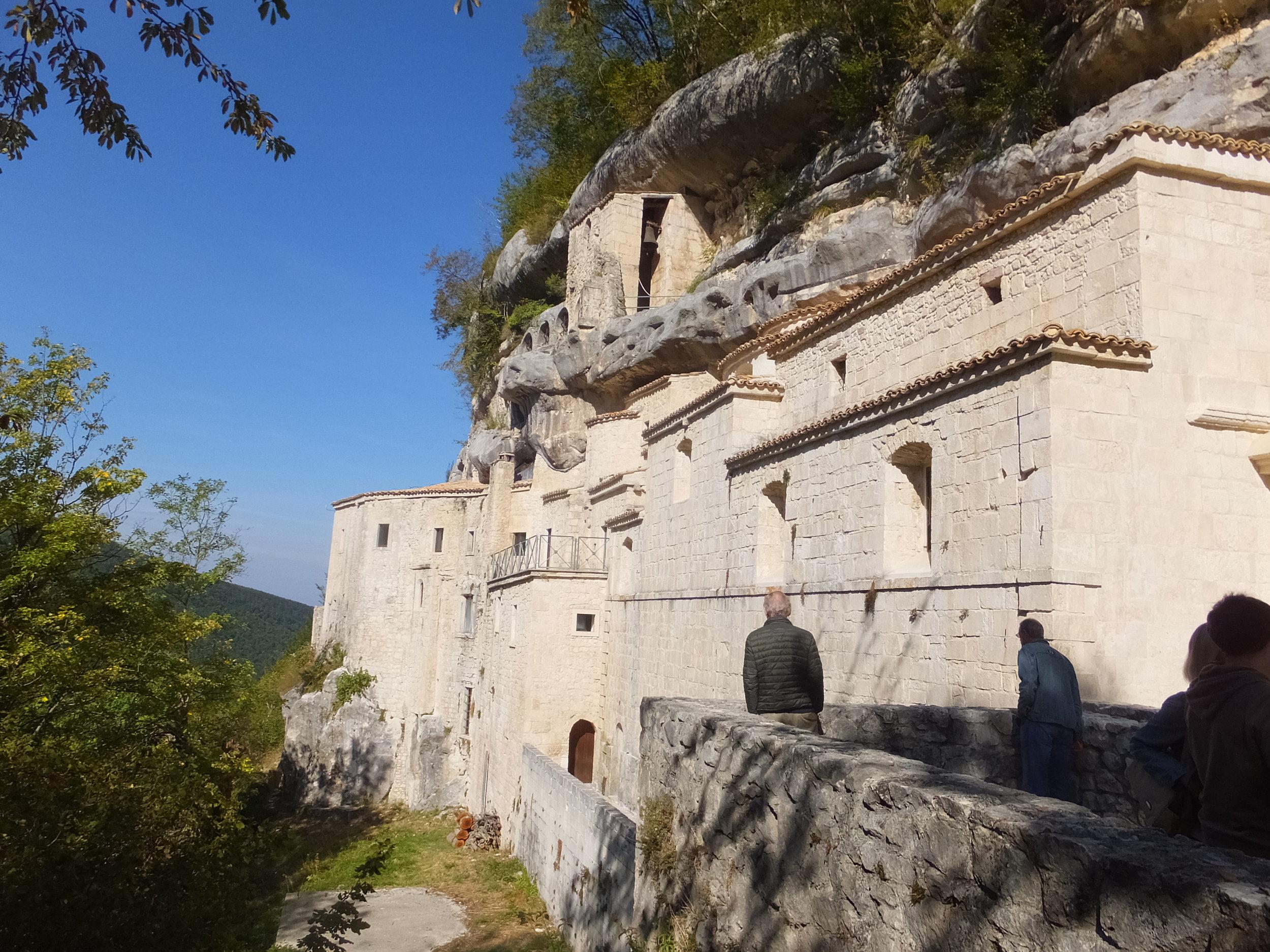 Abruzzo - Roccamorice - Hermitage 3.JPG