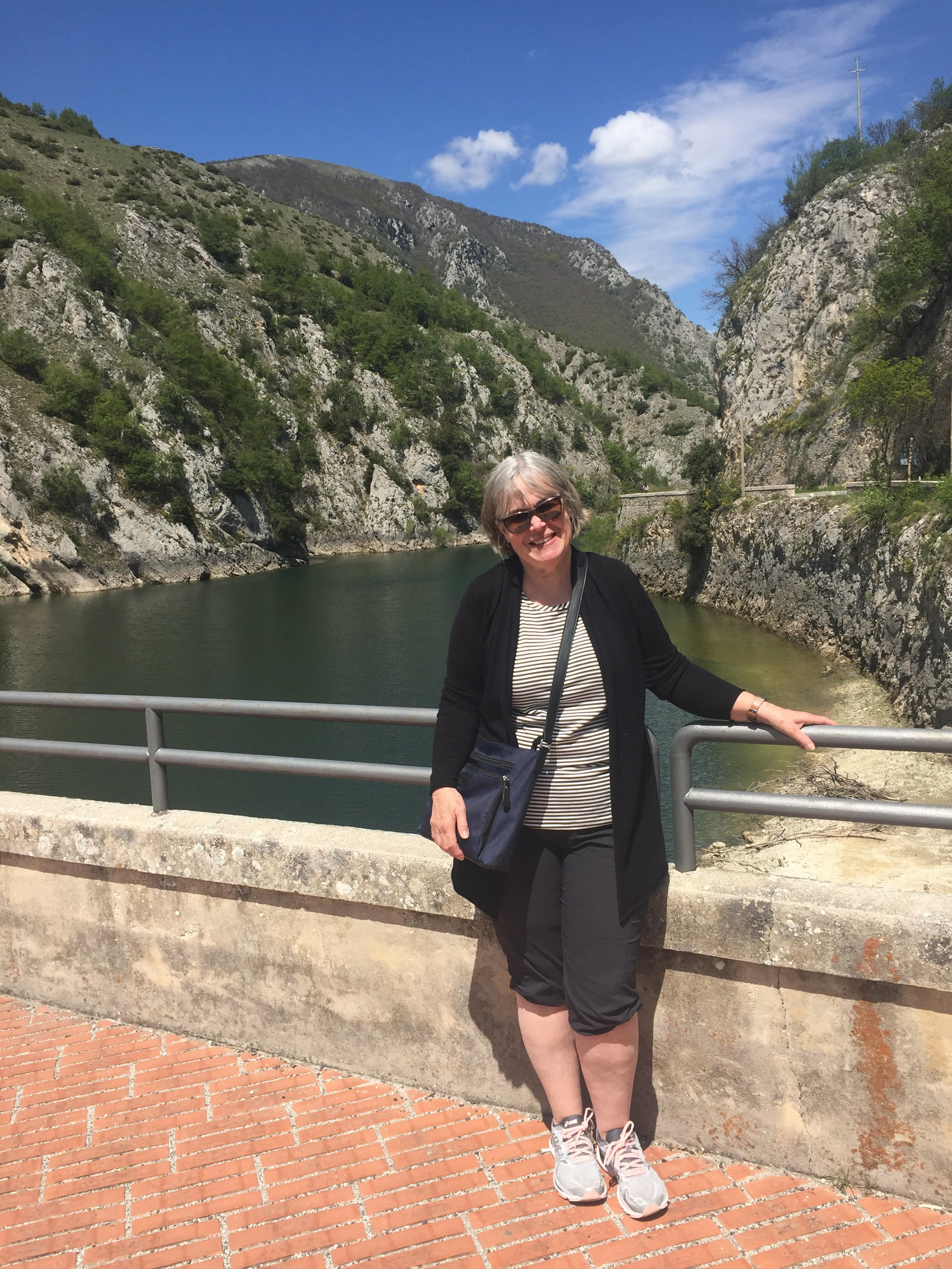 Diane and I would like to thank Jake, Lisa, and the team for making our visit to Abruzzo so amazing! Every single one of you did your best to feed us, take us on fascinating tours, and make us feel comfortable and welcome. I love Abruzzo and can't wait to visit again! Thank you. Stephanie Watson