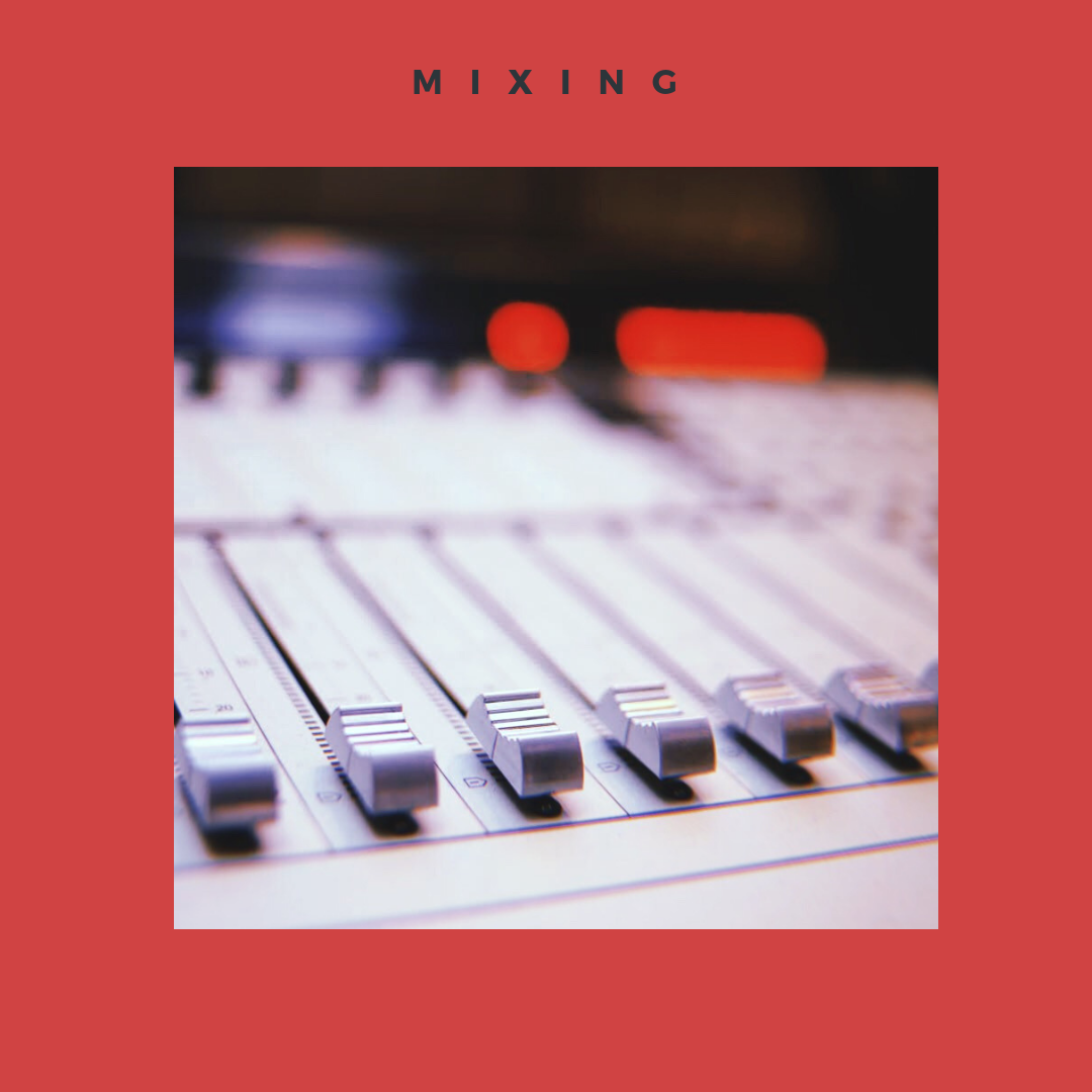 MIXING - Vocals to InstrumentalFrom £60Full Track Stem MixesFrom £250EP's, Mixtape's, Album'sPlease contact for PricingFor Online Mixing Services please email Info@48four.comWhat's Included?- Mixed Stereo WAV File Ready- Interaction with the Engineer- Turnaround of 10 days- 1 Set of Revisions