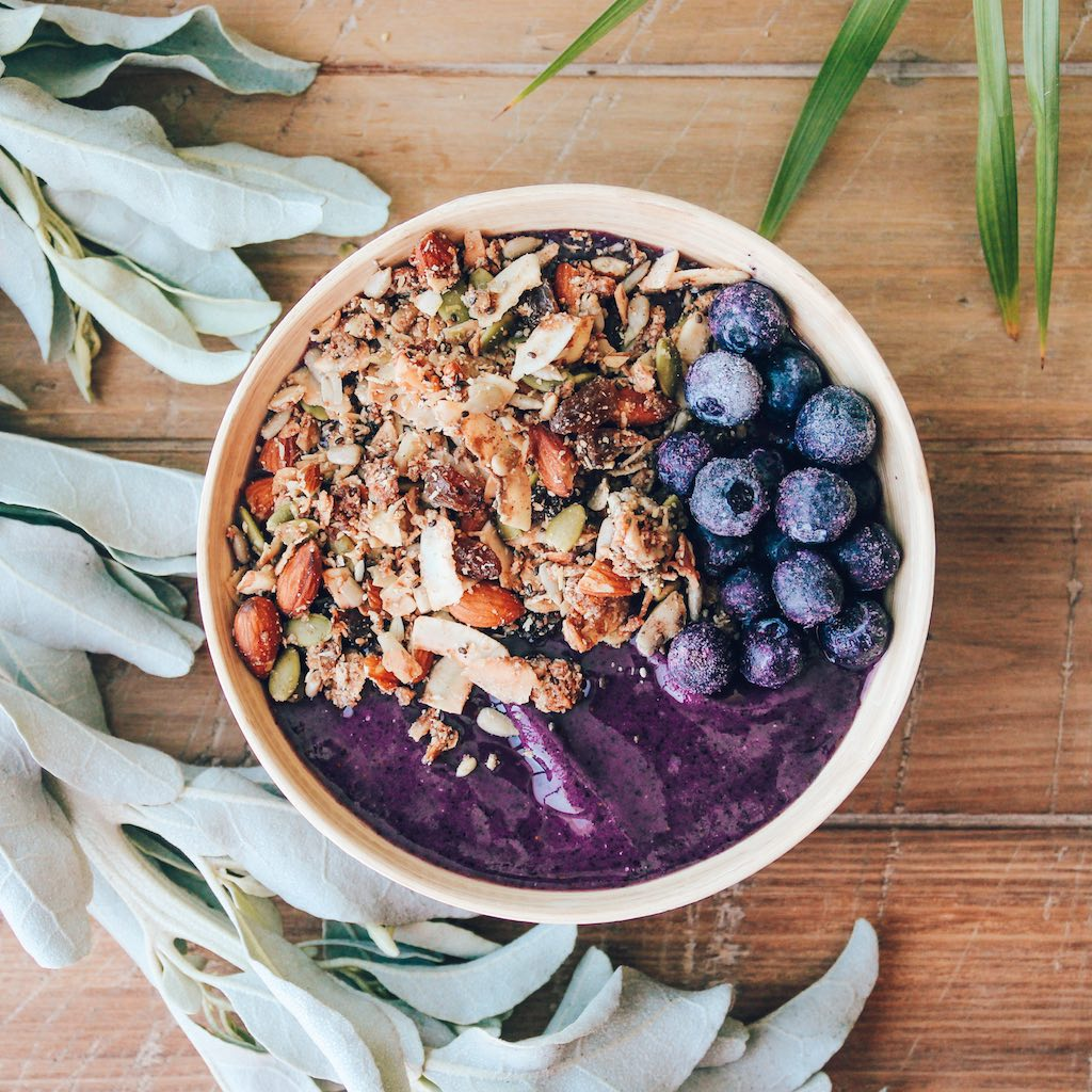 Blueberry Banana Smoothie Bowl - GATHERER HUNTER GRANOLA-3.jpg