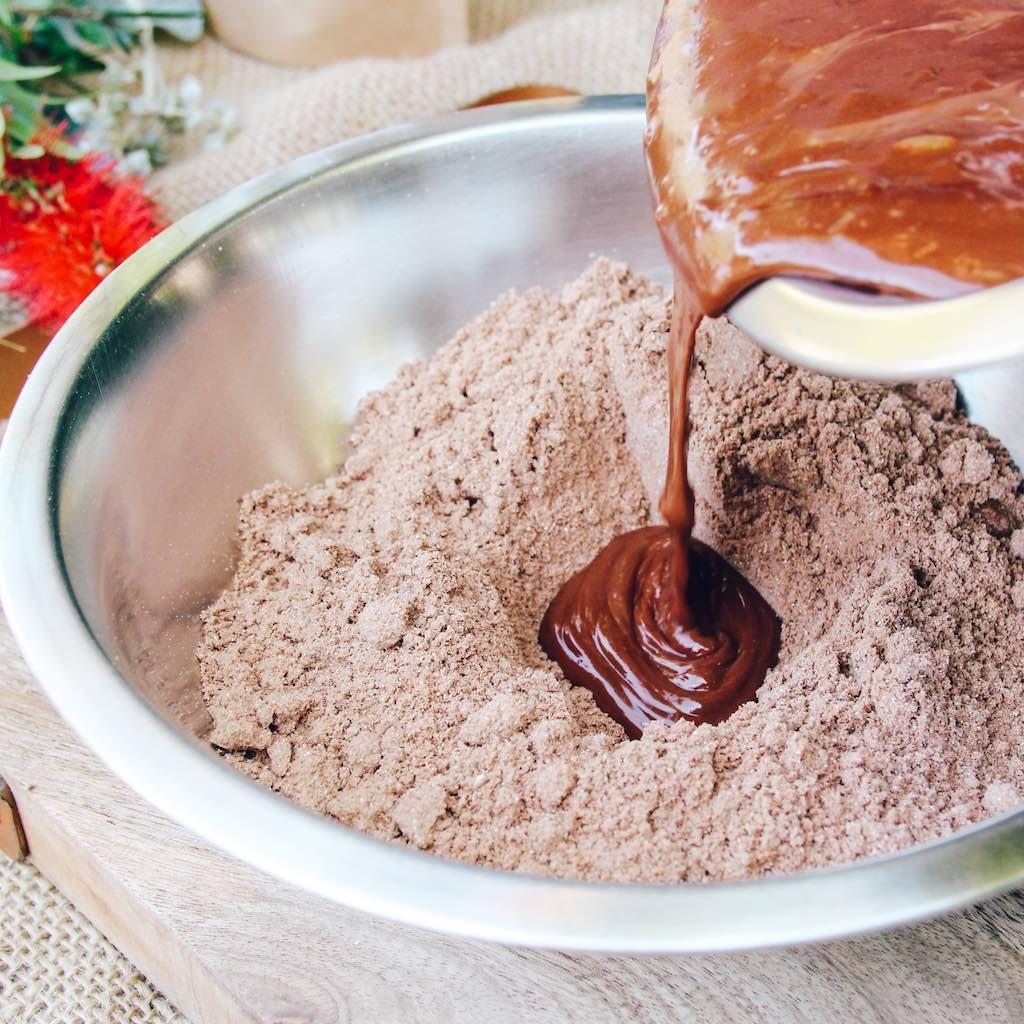 Vegan Gluten Free Peanut Butter Chocolate Brownies Recipe-3.jpg