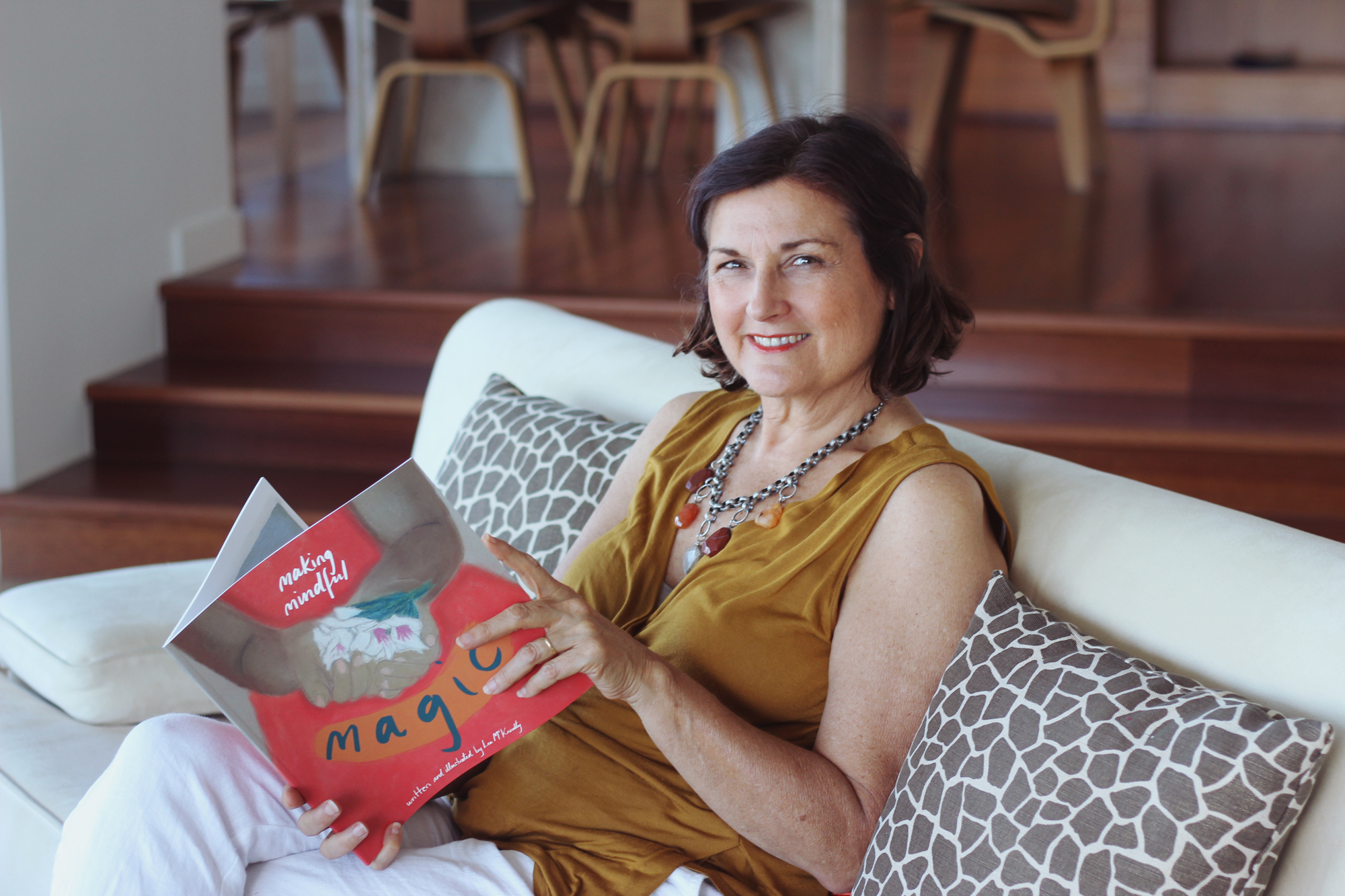 Lea McKnoulty, author & illustrator of Making Mindful Magic.