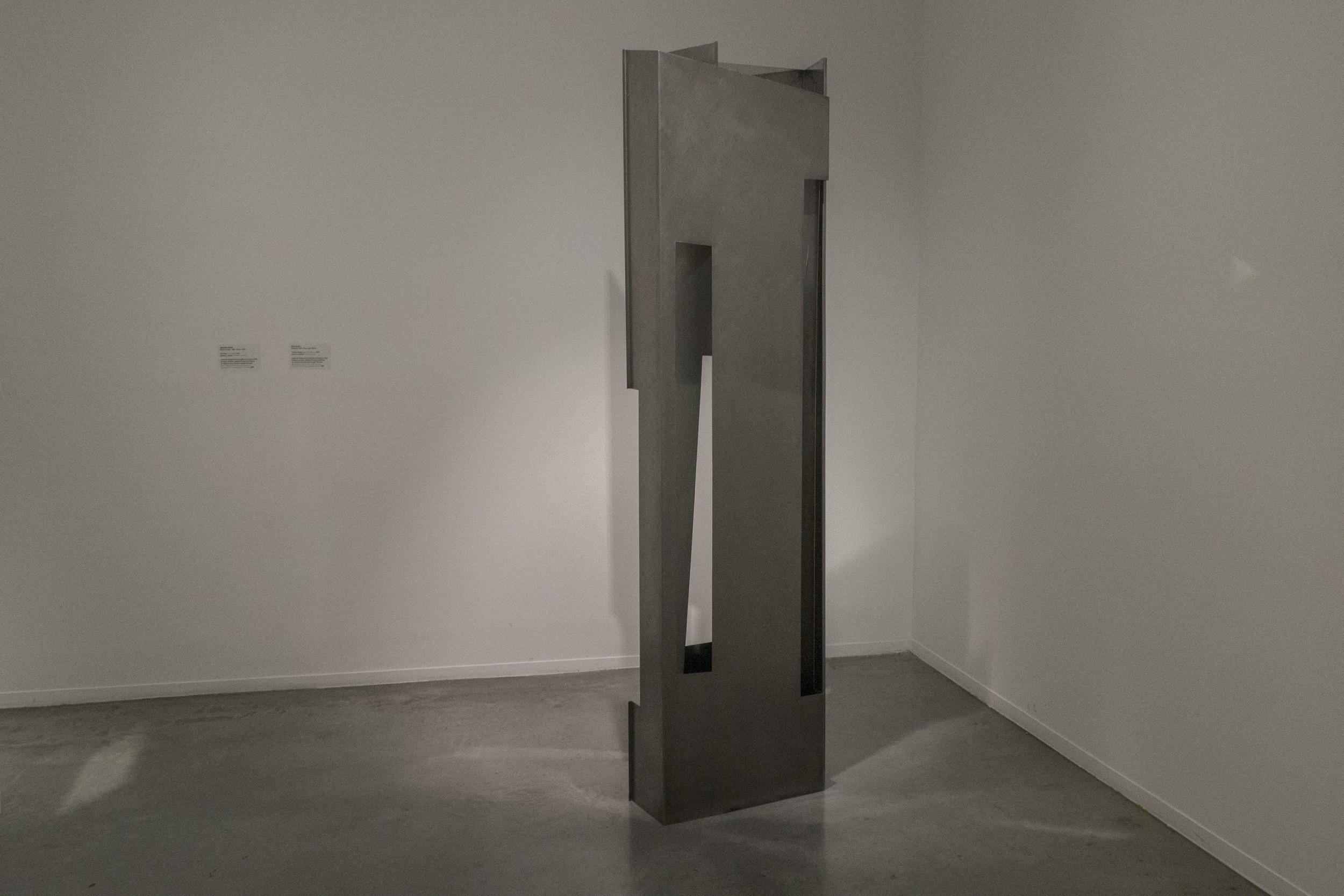 Interior Exterior. 1969. Acero inoxidable. Coleccion del Museo de Arte Moderno de Buenos Aires. Donacion de Josefina Pirovano. Foto: Leonardo Antoniadis