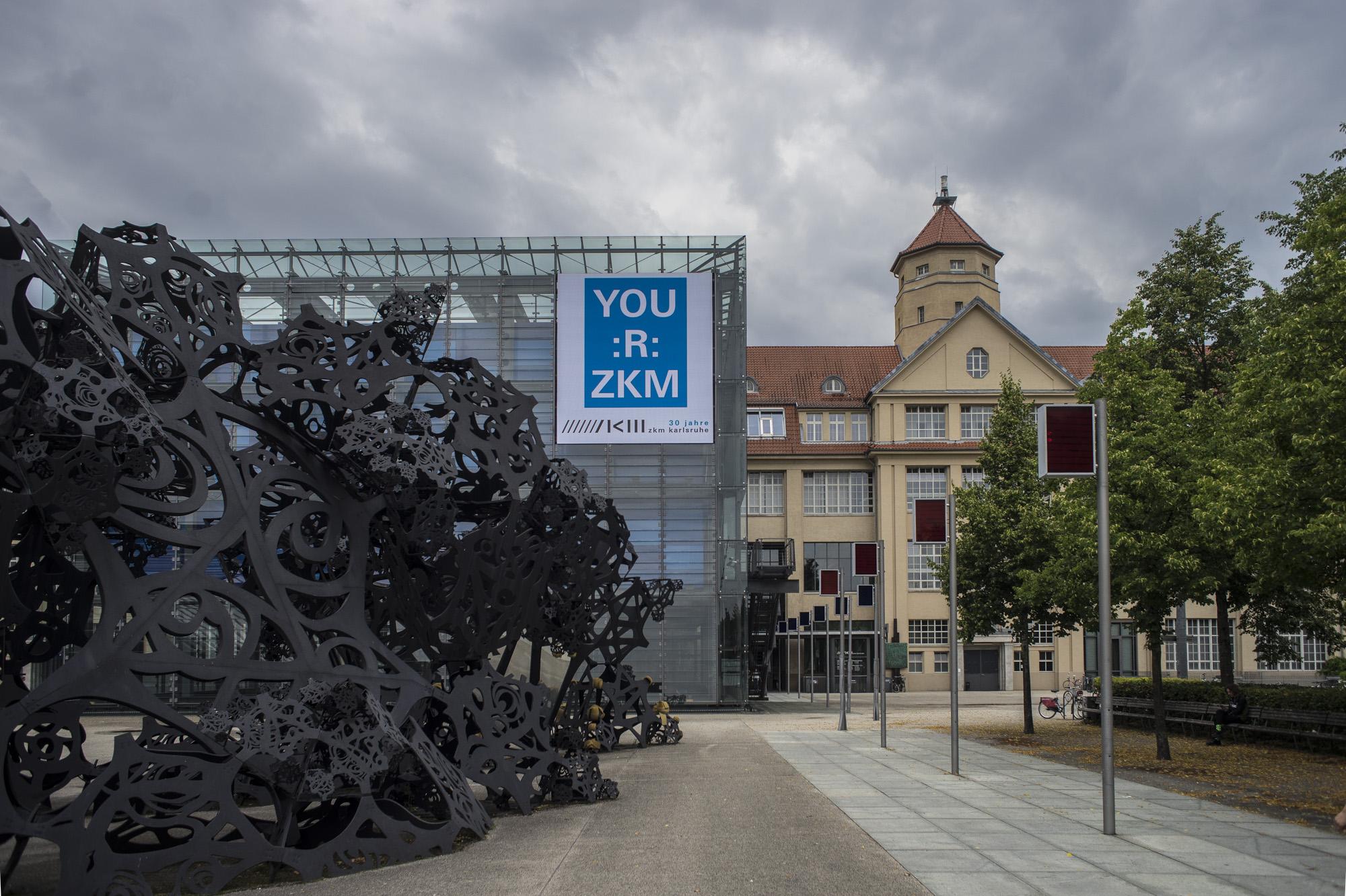 El ZKM, Centro de Arte y Medias en Karlsruhe, Alemania. Foto: Leonardo Antoniadis.