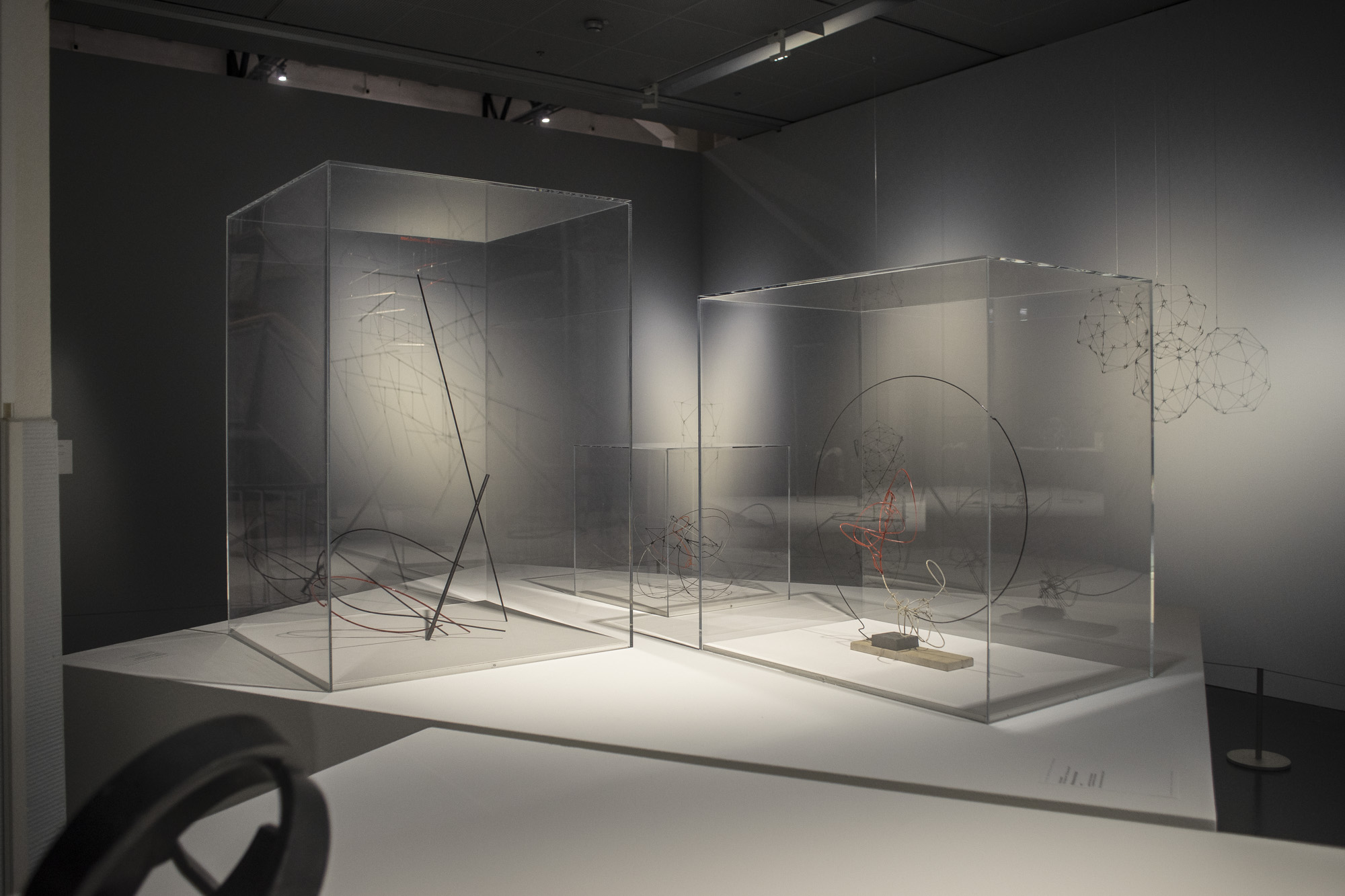 Construcción espacial y Ritmos en el círculo, de Enio Iommi. Foto: Leonardo Antoniadis.