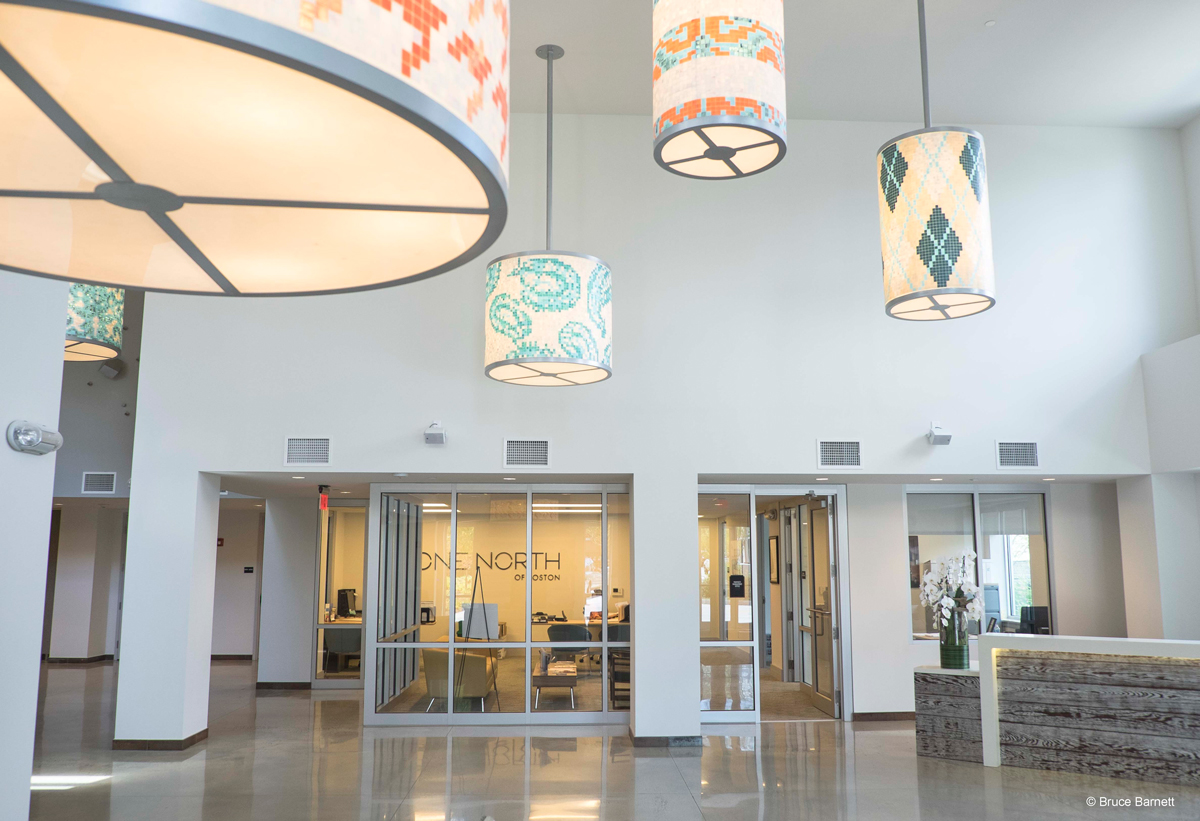 Management Lobby - Apartment Complex