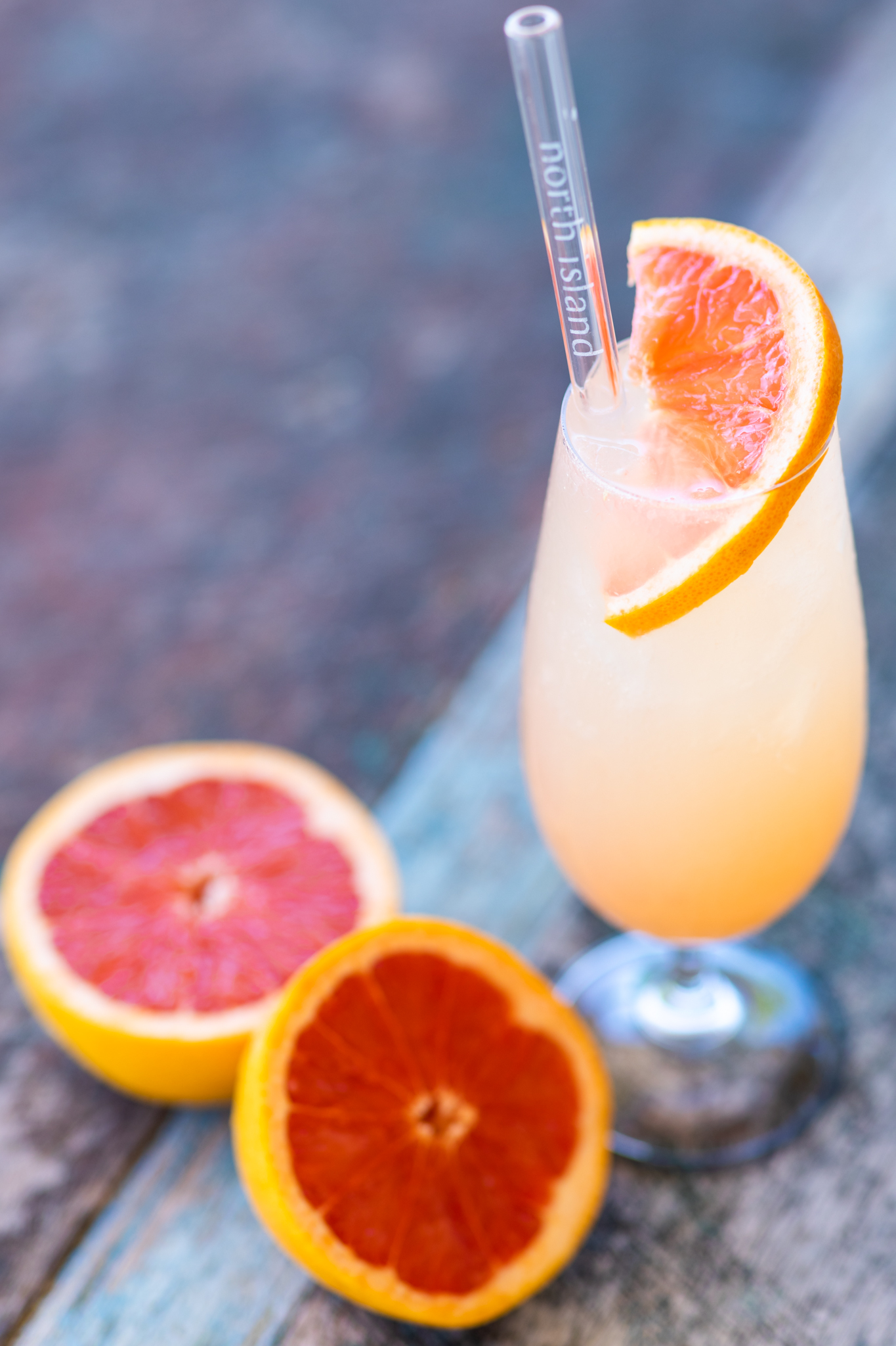 Firestarter cocktail at West Beach Bar on North Island Seychelles
