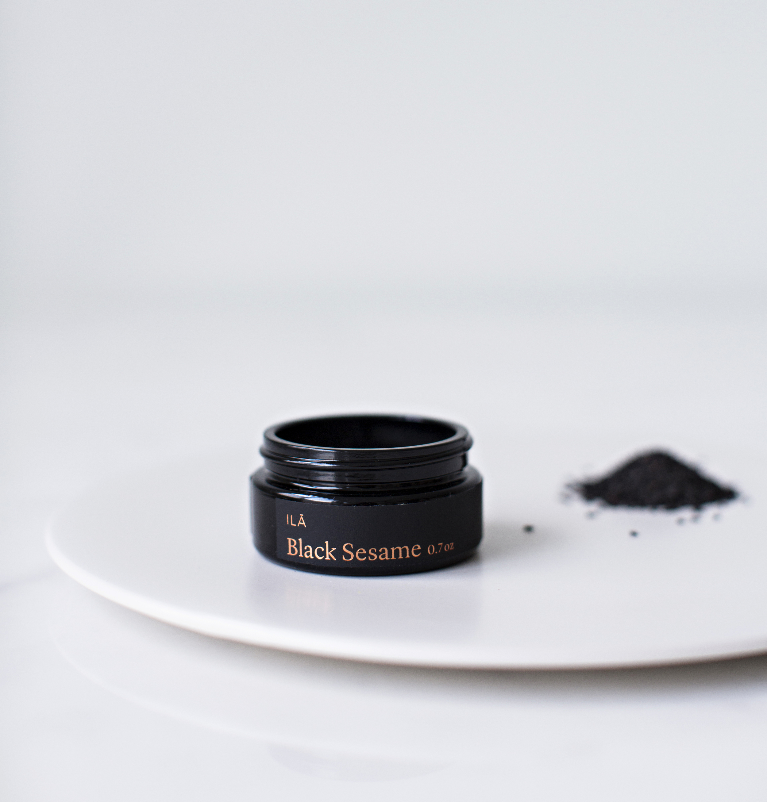 Black sesame from the ILĀ COLLECTION
